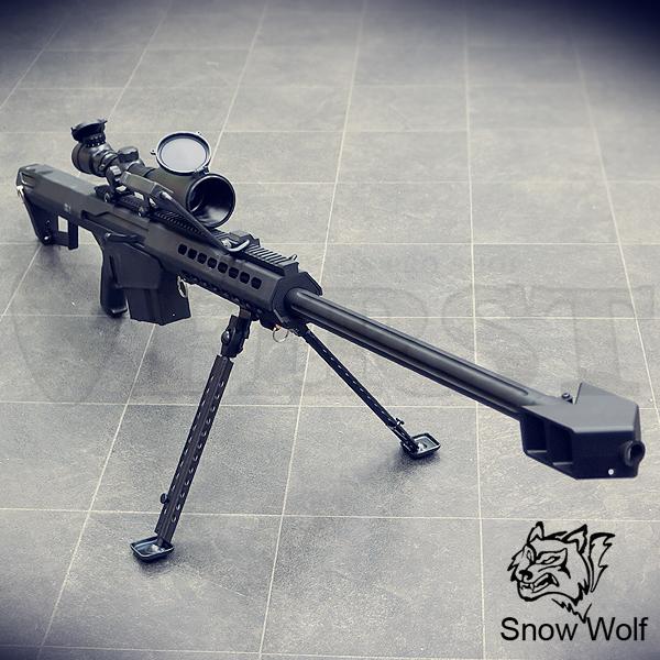 バレットM82A1 (対物ライフル) エアコッキング フルセット