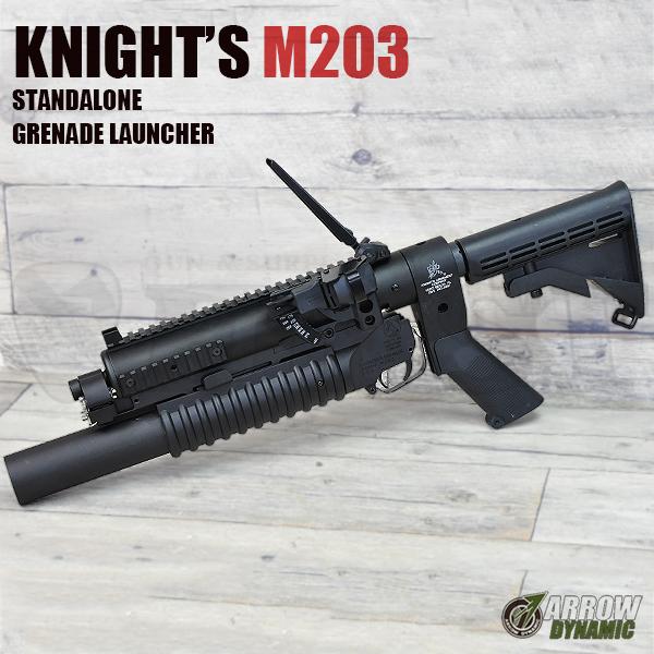 Knight'sタイプ M203 スタンドアローンランチャー 6ポジションストック フルセット ロングタイプ