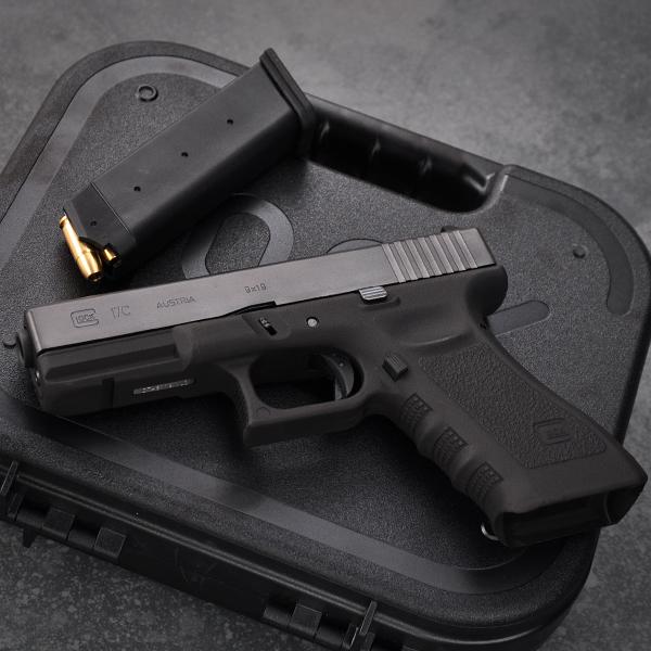"""【限定生産品】モデルガン Glock 17C 3rd Generation Frame HW Evolution2""""改"""""""