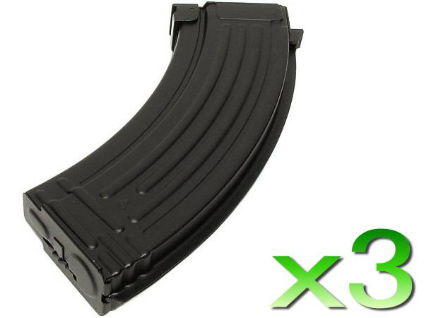 AK 600連多弾装マガジン 3本セット