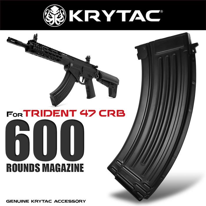 KRYTAC純正 TRIDENT TR47専用 多弾数マガジン