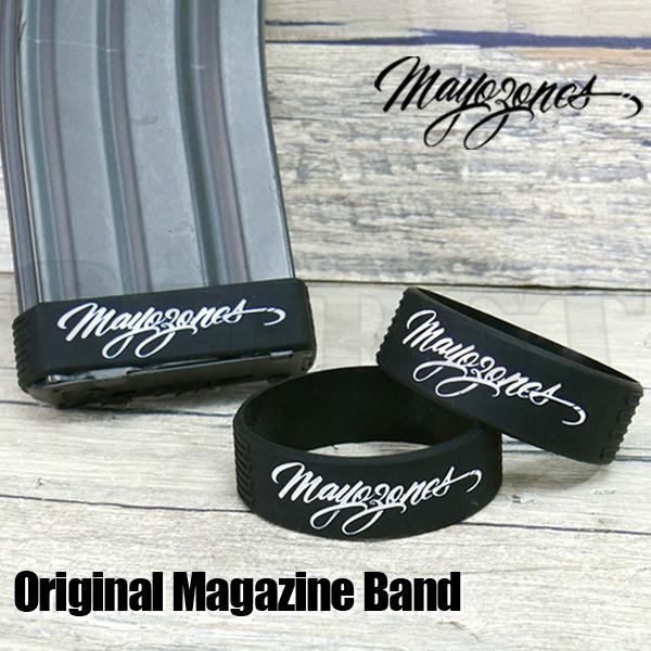 【MAYOZONES】マガジンバンド(ロゴ) ブラック