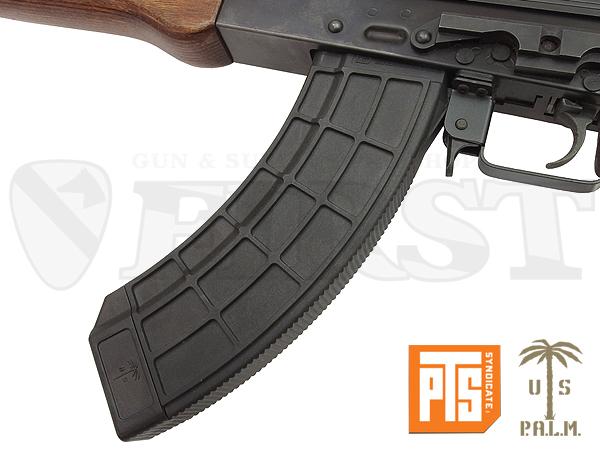 PTS US PALM AK 150連マガジン BK【1〜3営業日以内に発送】