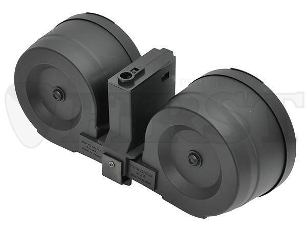 多弾装マガジン M4 1200連 ツインドラムマガジン