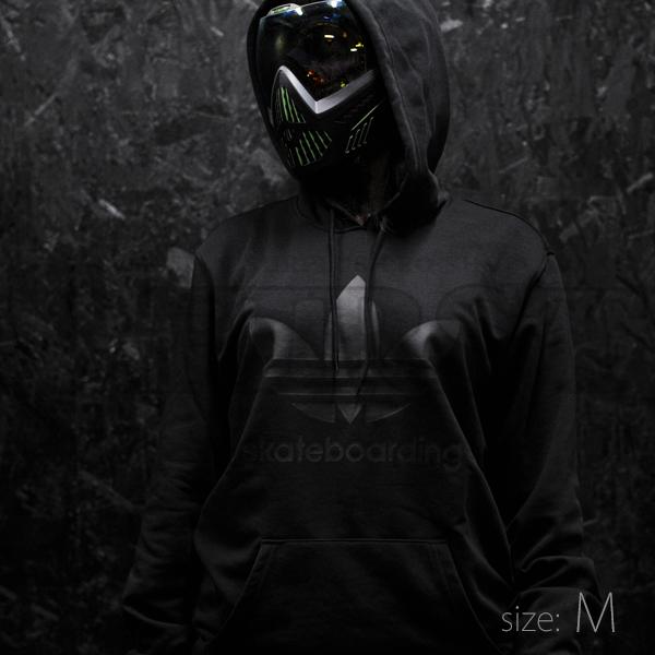 ADIDAS CLIMA 3.0 フーディ ブラック/ブラック Mサイズ