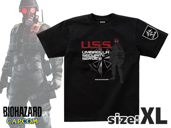 【新商品予約】バイオハザード キャラクターTシャツ ハンク XLサイズ
