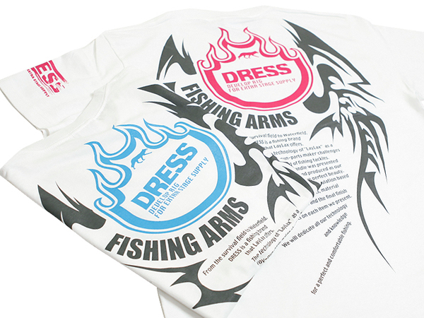 DRESS Tシャツ FISHING ARMS Ver....