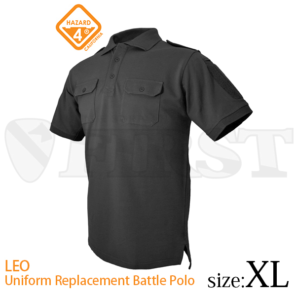 H4-APR-LEO-BLK-XL LEO ユニフォ...