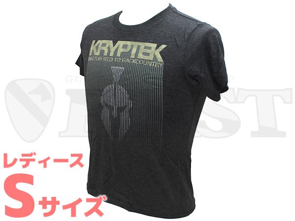【アウトレット特価】KRYPTEK Boys トライブレンドTシャツ Sサイズ(レディース)