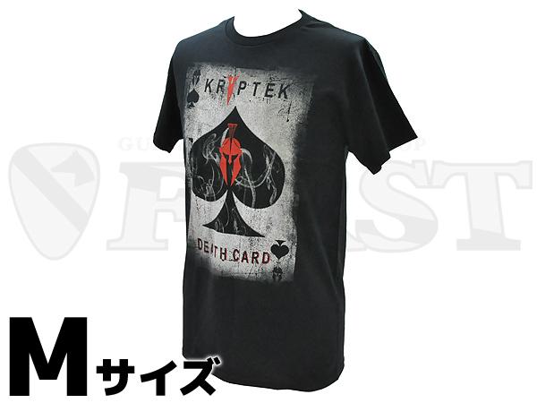 【アウトレット特価】クリプテック デスカード エース Tシャツ Mサイズ