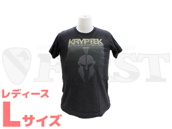 【アウトレット特価】KRYPTEK Boys トライブレンドTシャツ Lサイズ(レディース)