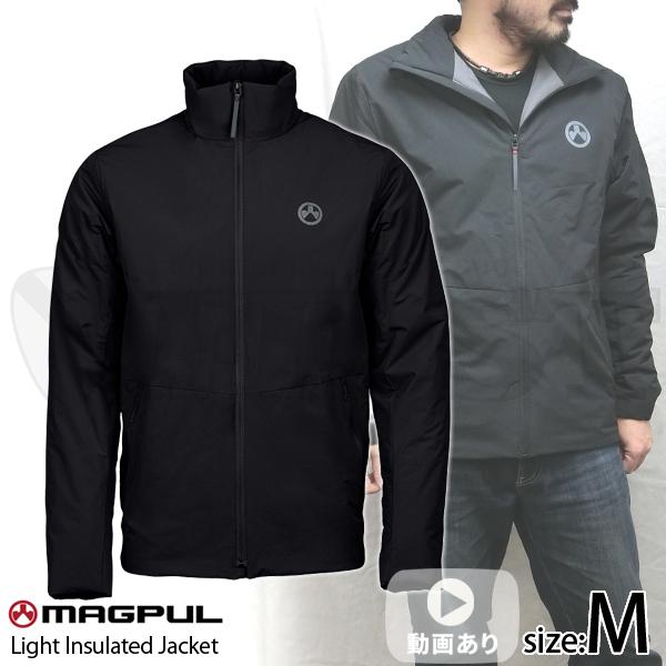 ライトインスレイテッドジャケット ブラック Mサイズ