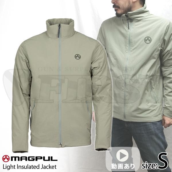 ライトインスレイテッドジャケット ベーリンググレー Sサイズ