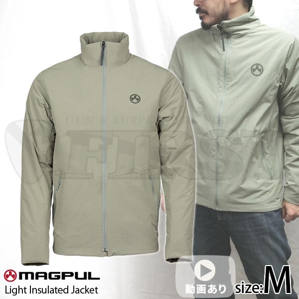 ライトインスレイテッドジャケット ベーリンググレー Mサイズ