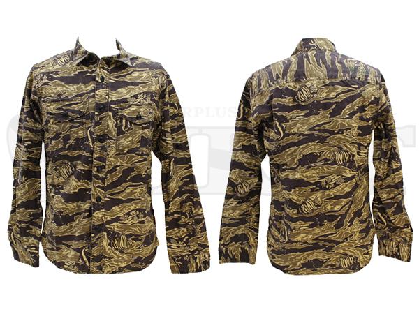 【アウトレット特価】7145003 CAMOHA コットンシャツ 55ブラウン XL
