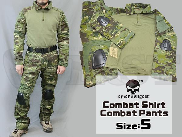 【カラーSALE特価】CRYEタイプ GEN2 コンバットシャツ&パンツ 上下セット マルチカムトロピック Sサイズ