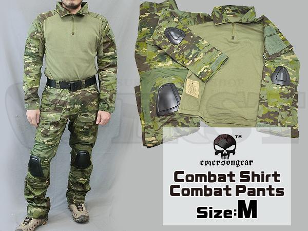 【カラーSALE特価】CRYEタイプ GEN2 コンバットシャツ&パンツ 上下セット マルチカムトロピック Mサイズ