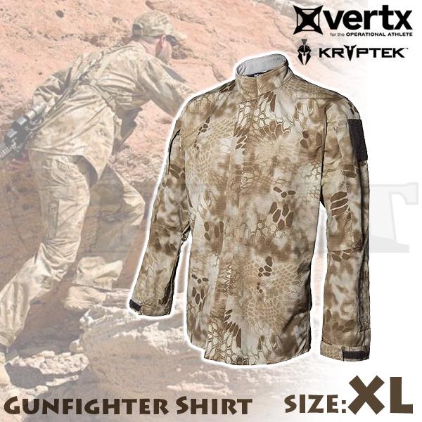 【アウトレット特価】Vertx Kryptek ガンファイターシャツ ノマド XLサイズ