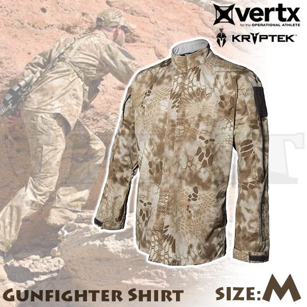 【アウトレット特価】Vertx Kryptek ガンファイターシャツ ノマド Mサイズ