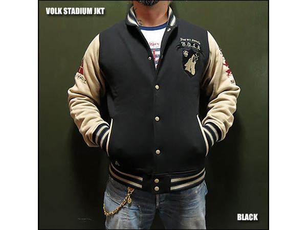 STADIUM ジャケット BK Lサイズ