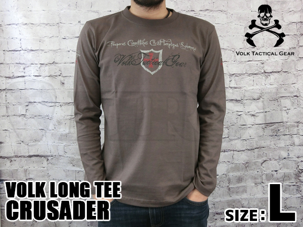 VOLK LONG TEE  /  CRUSADER CHAR...