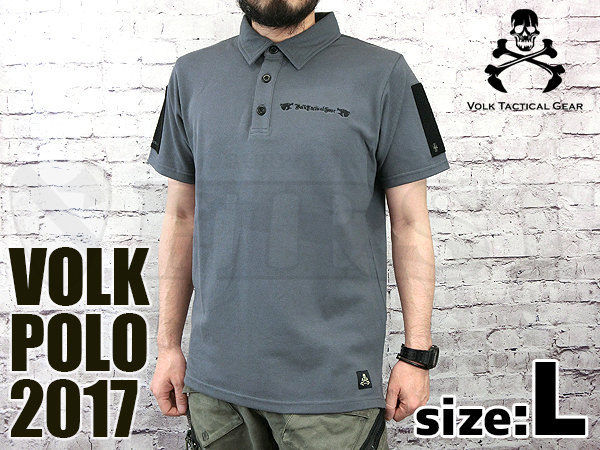 VOLK POLO 2017 WOLF GRAY Lサイズ