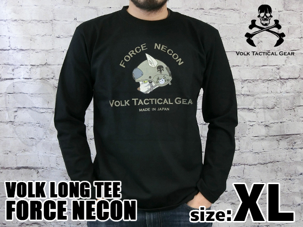 VOLK LONG TEE  /  FORCE NECON B...