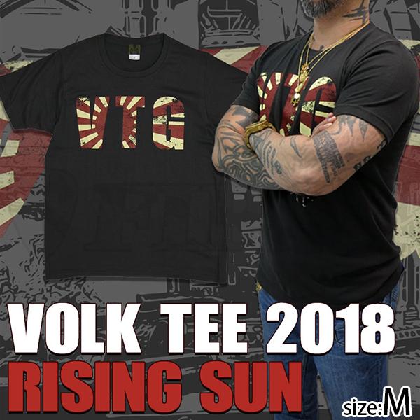 VOLK TEE 2018 / RISING SUN Mサイズ