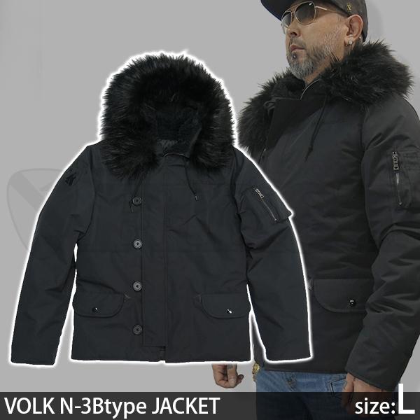 VOLK N-3Btype ジャケット Lサイズ