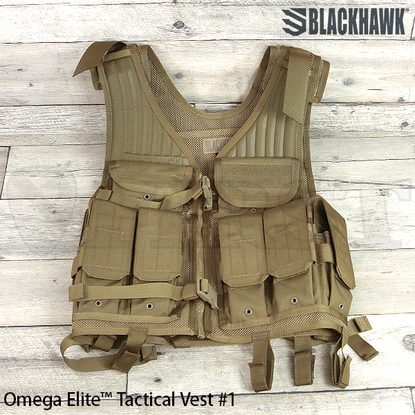 【BlackHawk】OMEGA ELITE TAC VST #1 COYOTE TAN