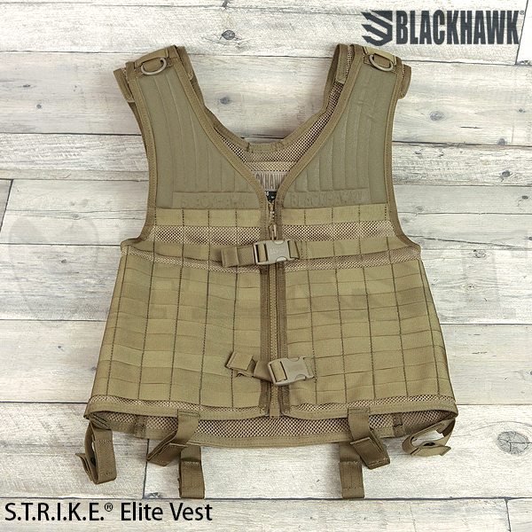 【BlackHawk】S.T.R.I.K.E. ELITE VST COYOTE TAN