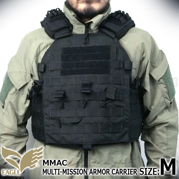 【EAGLE】 Multi Mission Armor Carrier BK (M)