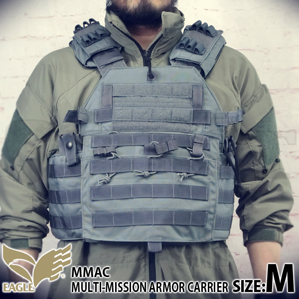 【EAGLE】 Multi Mission Armor Carrier GY (M)