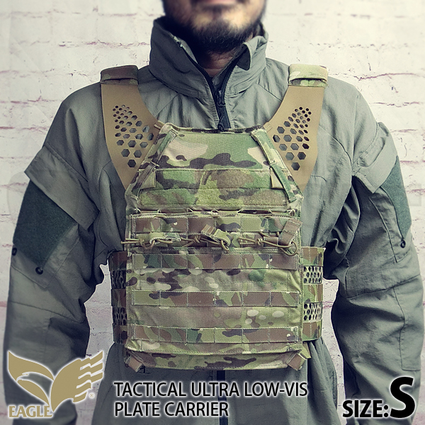 【EAGLE】 Ultra Low-vis Plate Carrier MC (S)