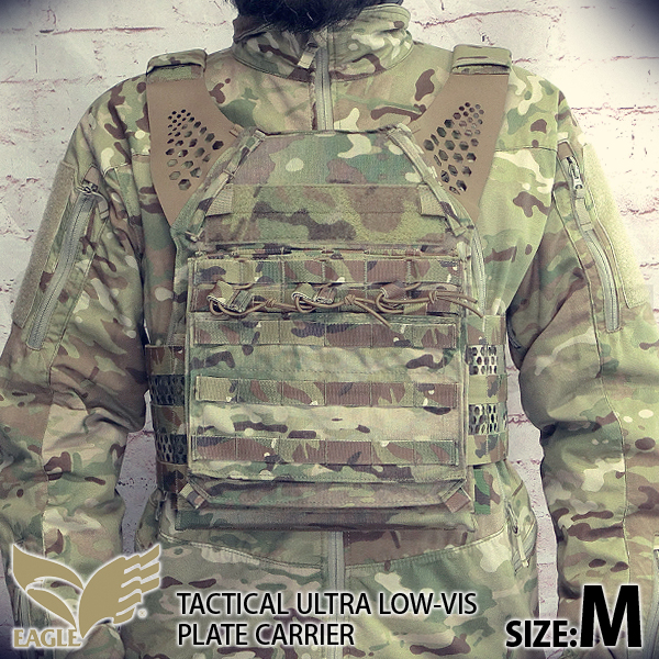 【EAGLE】 Ultra Low-vis Plate Carrier MC (M)