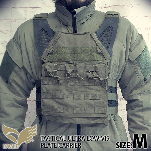 【EAGLE】 Ultra Low-vis Plate Carrier R/GR (M)