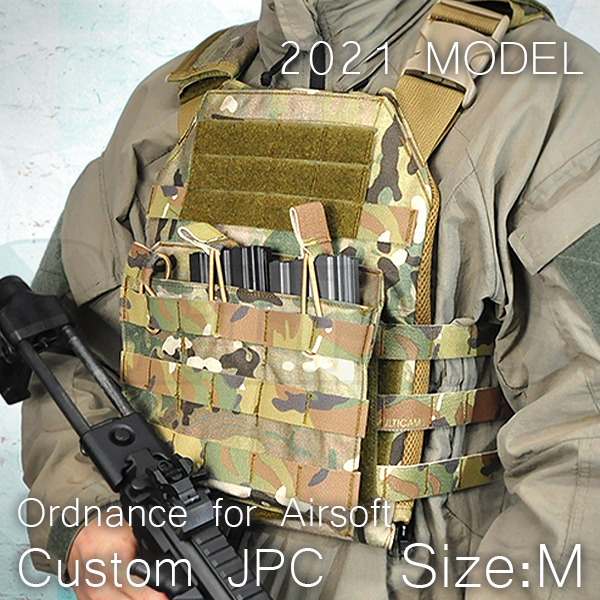 JPC(ジャンパブルプレートキャリア) バックルカスタム MC(マルチカム) Mサイズ