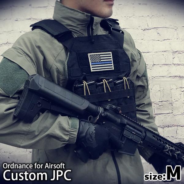 JPC(ジャンパブルプレートキャリア) バックルカスタム ブラック Mサイズ