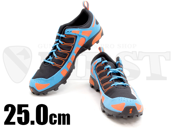 inov-8 X-TALON 212 MS Black/ Orange/ Blue 25.0cm