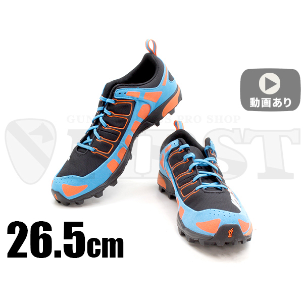 inov-8 X-TALON 212 MS メンズ Black / Orange / Blue 26.5cm
