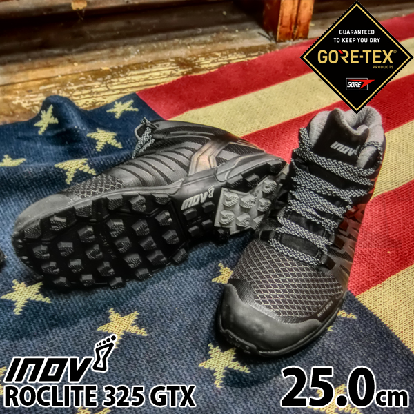 inov-8 ROCLITE 325 GTX MS Black/ Grey 25.0cm