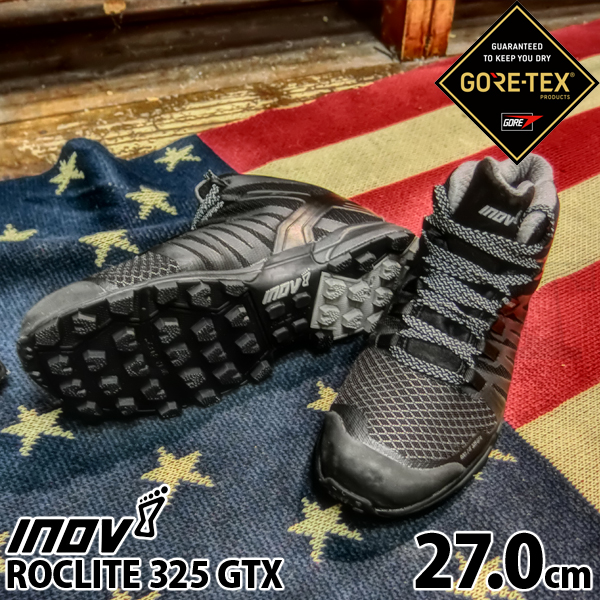 inov-8 ROCLITE 325 GTX MS Black/ Grey 27.0cm