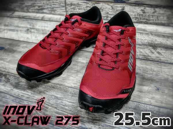 inov-8 X-CLAW 275 MS Red / Black 25.5cm