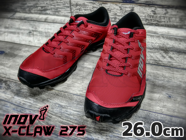 inov-8 X-CLAW 275 MS Red / Black 26.0cm