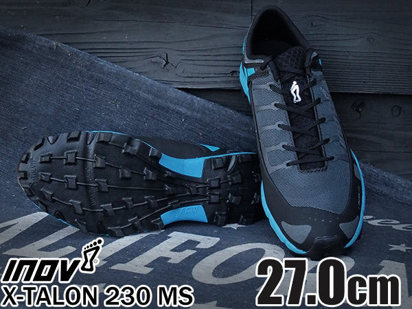 inov-8 X-TALON 230 MS Grey / Blue 27.0cm