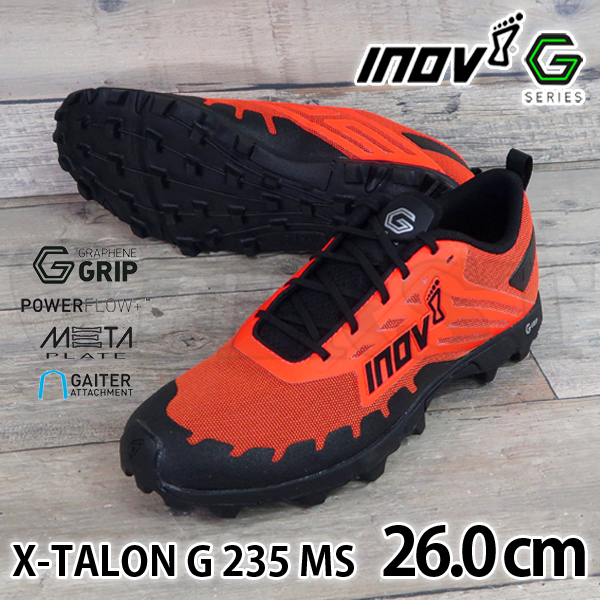 inov-8 X-TALON G 235 MS Orange/Black 26.0cm