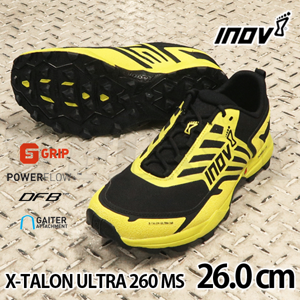 inov-8 X-TALON ULTRA 260 MS Yellow/Black 26.0cm