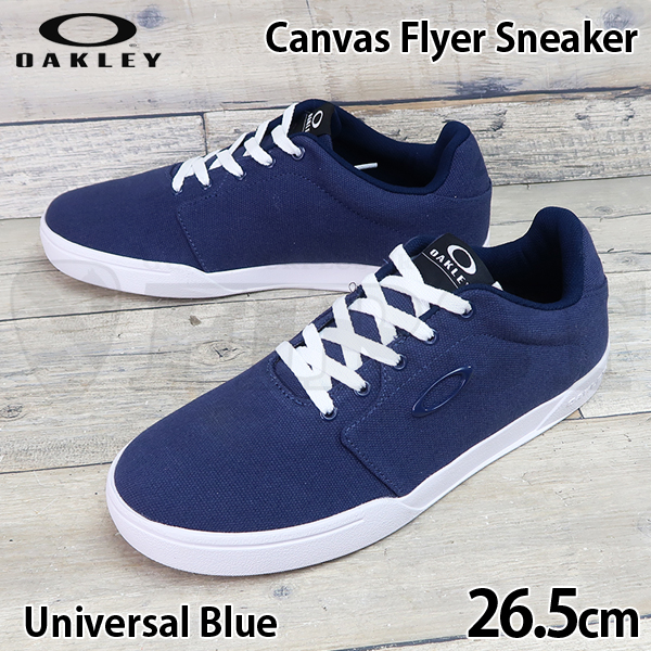 13551-6ZZ Oakley Canvas Flyer Sneaker / Universal Blue US8.5(26.5cm)