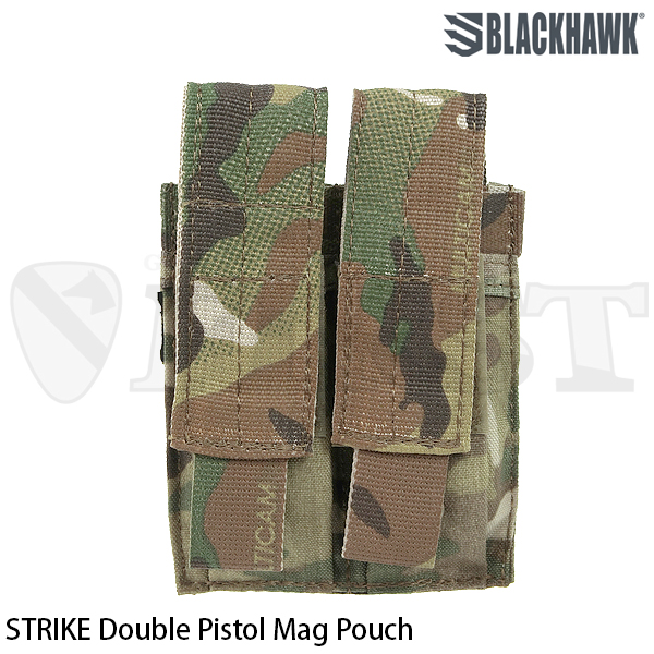 【BlackHawk】STRIKE Double Pistol Mag Pouch (MC)