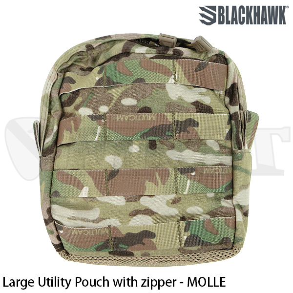 【BlackHawk】STRIKE Large utility Pch W/Zip (MC)